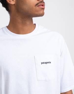 Triko Patagonia M's Line Logo Ridge Pocket Responsibili-Tee