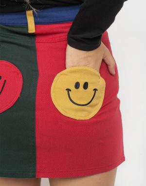 Lazy Oaf - Mr Happy Mr Wrong Skirt