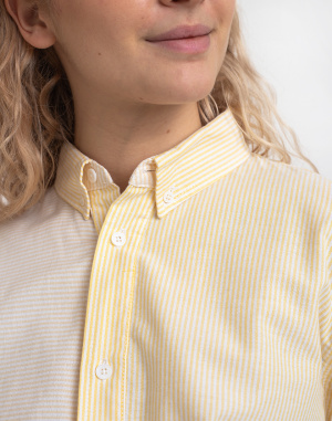 Košile Rotholz Basic Striped Shirt