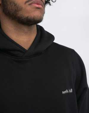 North Hill - Black North Hill Hoodie