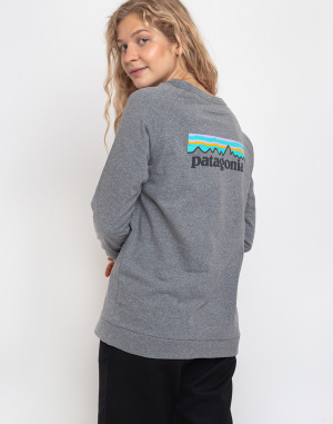 Triko Patagonia L/S Pastel P-6 Logo Responsibili-Tee