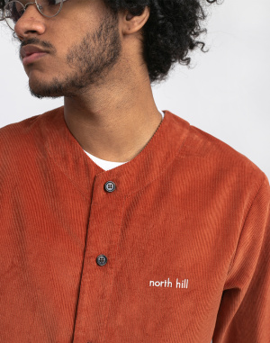 North Hill - Brick Corduroy Shirt