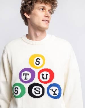 Svetr Stüssy Stüssy Billiard Sweater