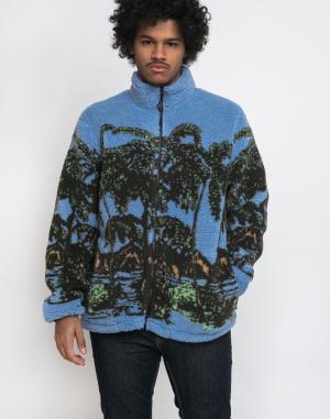 Mikina - Stüssy - Hawaiian Jacquard Mock