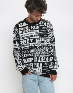 Obey - Post Sweater
