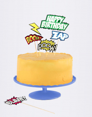 DOIY - Cake Toppers Comic