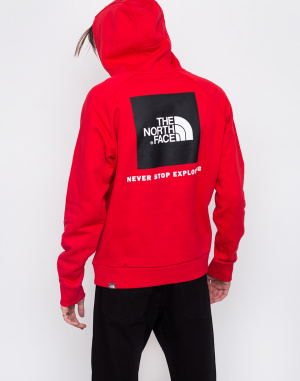 Mikina - The North Face - Raglan Red Box