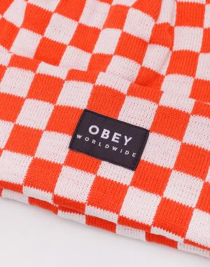 Obey - Vernon Check Beanie