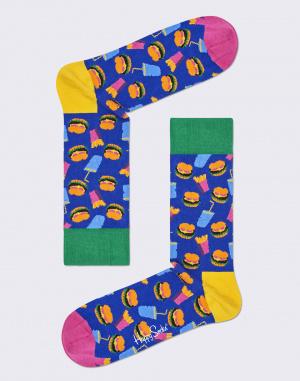 Ponožky - Happy Socks - Hamburger