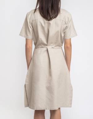 Šaty Thinking MU Stone Hemp Karen Dress