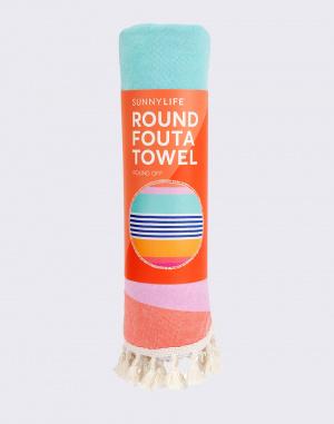 Ručník - Sunnylife - Round Fouta Towel Catalina