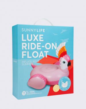Nafukovačka - Sunnylife - Luxe Ride-On Float Cockatoo