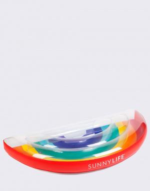 Nafukovačka - Sunnylife - Luxe Lie-On Float Rainbow
