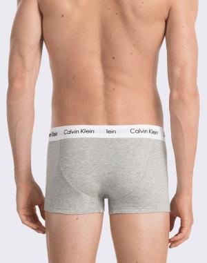 Boxerky Calvin Klein 3P Low Rise Trunk