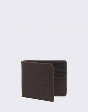 Kožené Herschel Supply Hank Leather RFID