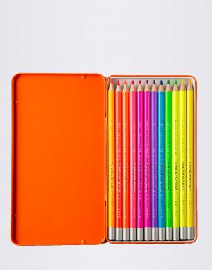 PrintWorks - 12 Neon Colour Pencils