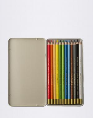 PrintWorks - 12 Colour Pencils