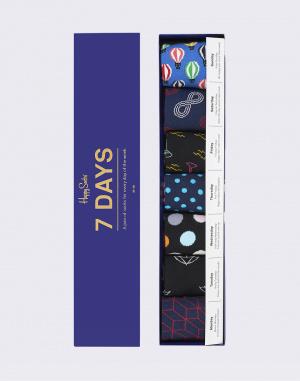 Ponožky - Happy Socks - 7 Days Gift Box