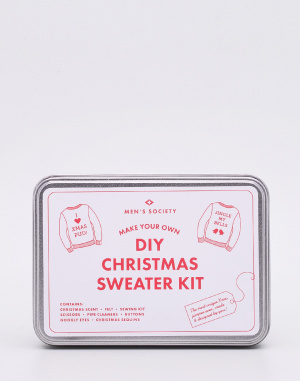 Dárek - Men's Society - DIY Christmas Sweater Kit