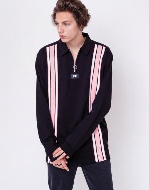 Mikina - Lazy Oaf - Black Stripe