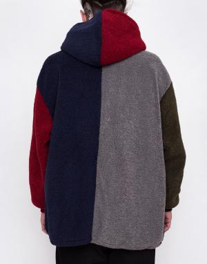 Mikina - Lazy Oaf - Colour Block Fleecy