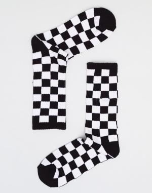 Ponožky - Vans - Checkerboard Crew
