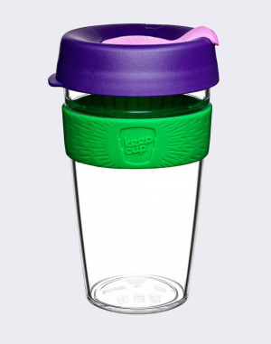 Hrnek - KeepCup - Clear Edition Spring L