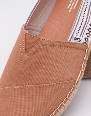 Espadrilky - Toms - Blanket Stitch Alpargata