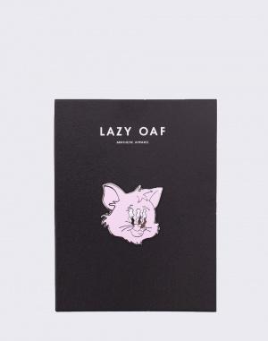 Lazy Oaf - Wavy Cat Pin Badge