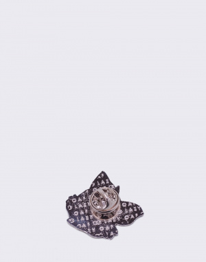 Lazy Oaf - Wavy Cat Pin Badge