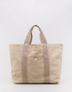 M.C.Overalls - Suede Tote Bag