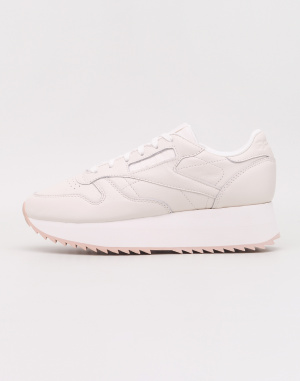 Sneakers - Reebok - Classic Leather Double  81207bc4cb5