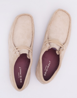 Polobotky Clarks Originals Wallabee