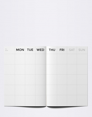 Octagon - Big Timeless Monthly Planner
