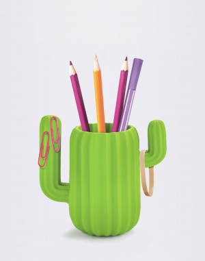 Just Mustard - Cactus Desktop Organiser