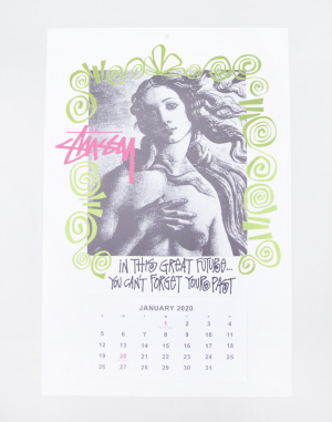 Do kanceláře Stüssy 2020 Calendar