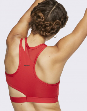 Top - Nike - Swoosh Rebel Slash Bra