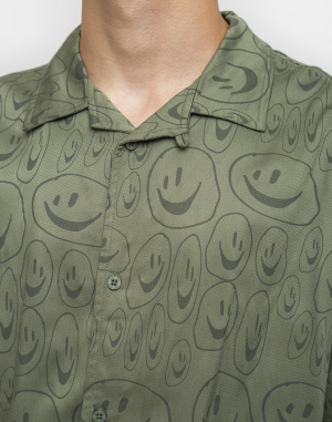 Lazy Oaf - Squish Face Bowling Shirt