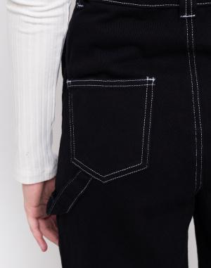 Kalhoty - Lazy Oaf - Big Black Dungarees