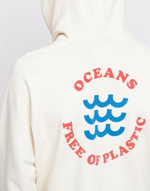 Thinking MU - Oceans Free Of Plastic Hoodie