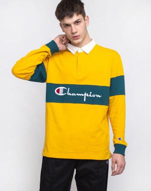 Champion - Long Sleeve Polo T-Shirt