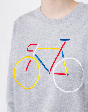 Dedicated  - Sweatshirt Ystad Color Bike