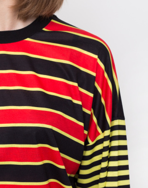 The Ragged Priest - Mixed Stripe Skater Tee