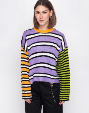 The Ragged Priest - Mixed Stripe Knit Jumper