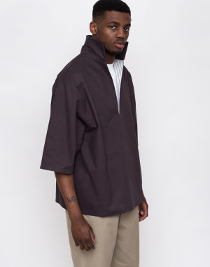 North Hill - Twill Anthracite Pullover Tee