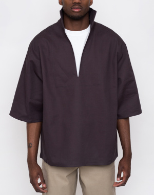 Triko - North Hill - Twill Anthracite Pullover Tee