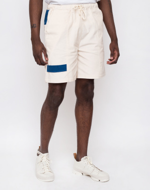 North Hill - Off White Corduroy Shorts