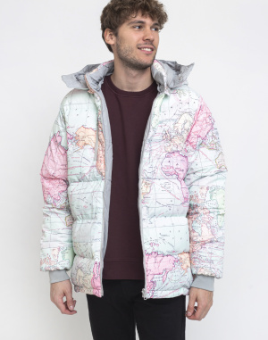 Dedicated - Puffer Jacket Dundret Map
