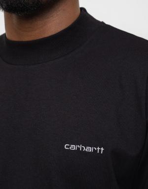 Triko Carhartt WIP Mockneck Script Embro T-S