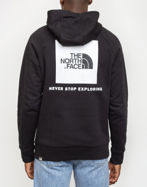 Mikina The North Face Raglan Red Box Hoodie